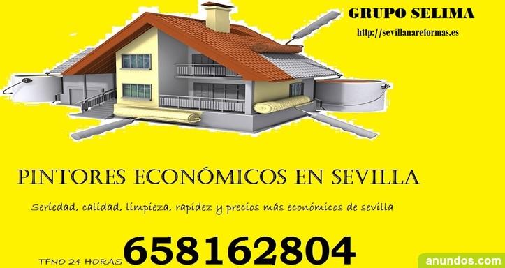 Pintor barato en Sevilla. Pintor muy economico en Sevilla