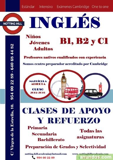 Clases de Recuperación e Idiomas