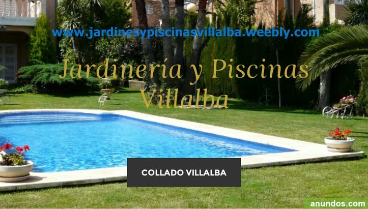Jardines y piscinas villalba collado villalba for Piscina collado villalba