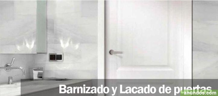 Barnizado y Lacado de puertas y ventanas