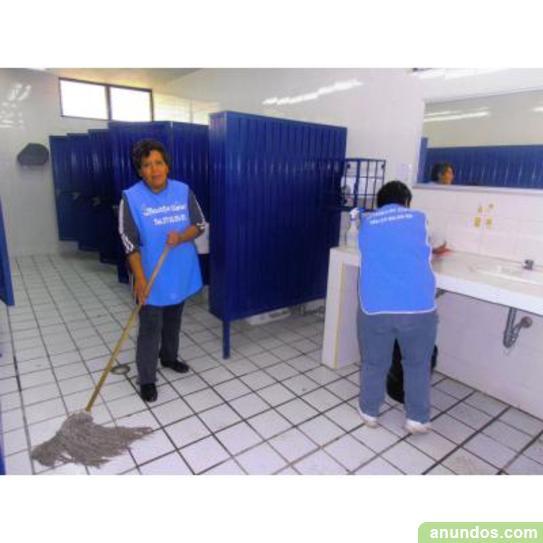 Personal para el área de limpieza en oficinas, escuelas, bancos