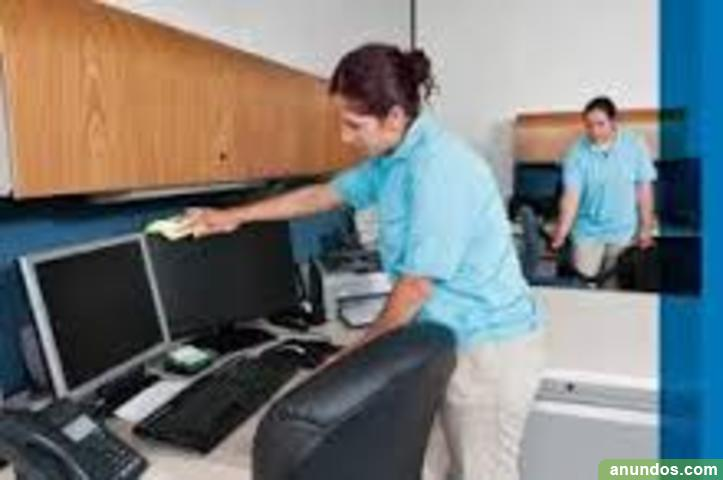 Personal para el rea de limpieza en oficinas escuelas for Limpieza en oficinas