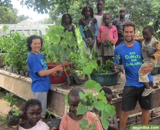 Activista Ambiental en África o India