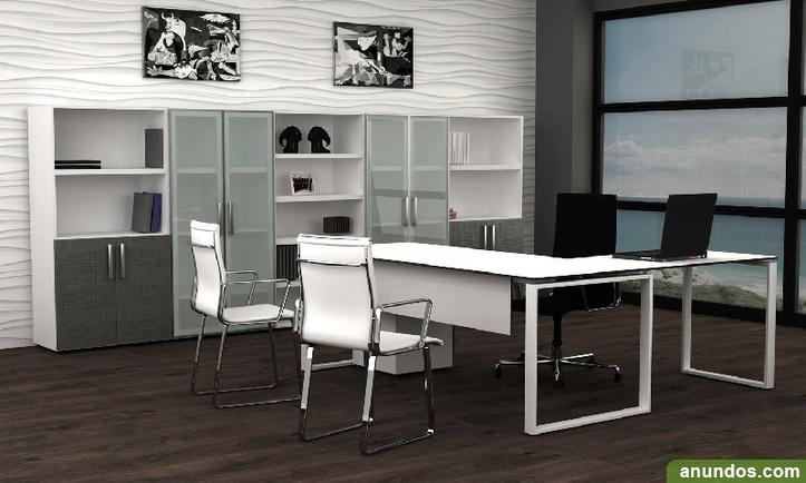 mesa de oficina 140x60cm barcelona ciudad