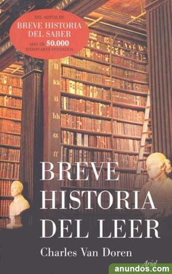 Breve historia del leer