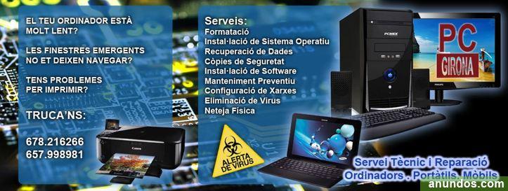 Servicio Técnico y Reparación de Ordenadores