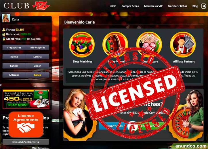 Vendo casino online full options