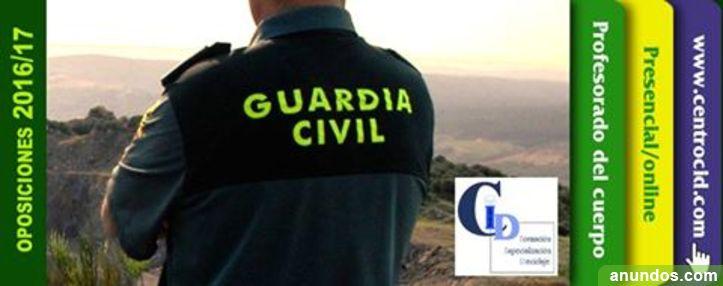 Inicio Clases Preparación Oposiciones Cuerpo Guardia Civil - 2017