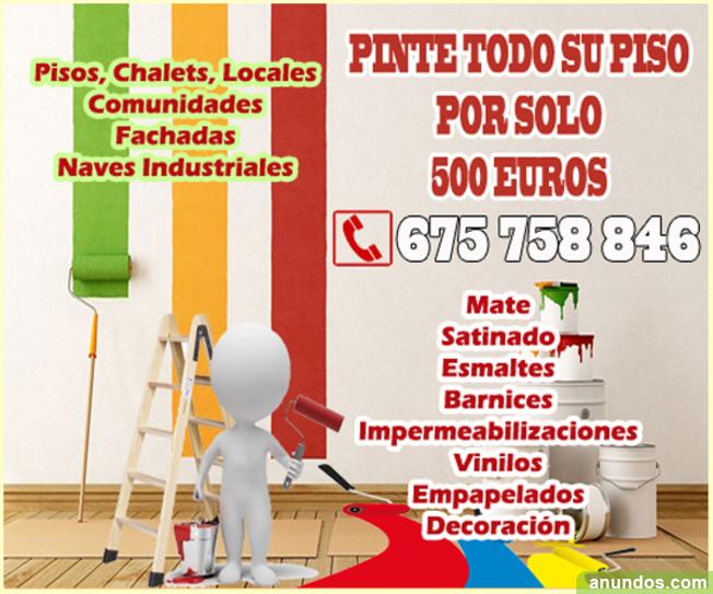 Pintores Económicos Profesionales Barcelona