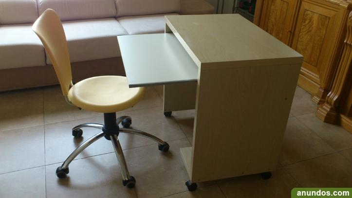 Escritorio y silla para oredenador legan s for Muebles de oficina leganes