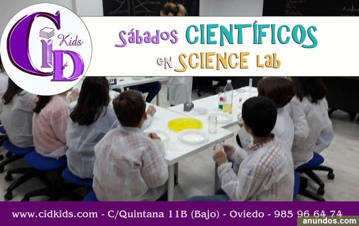 Talleres Cid KidS – Experimentos Científicos para niños