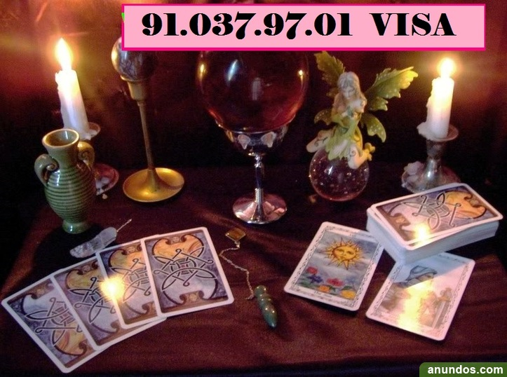 Emperatriz tarot telefónico. Visa 91-037-97-01