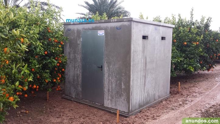 Casetas de hormig n prefabricado riego garajes - Locales prefabricados ...