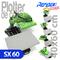 Plancha transfer profesional refine sx60 con base intercambiable