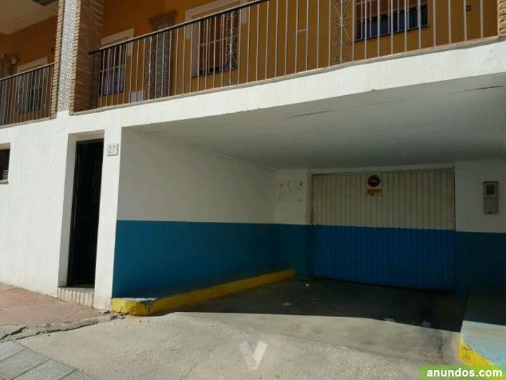 Plaza de garaje en churriana