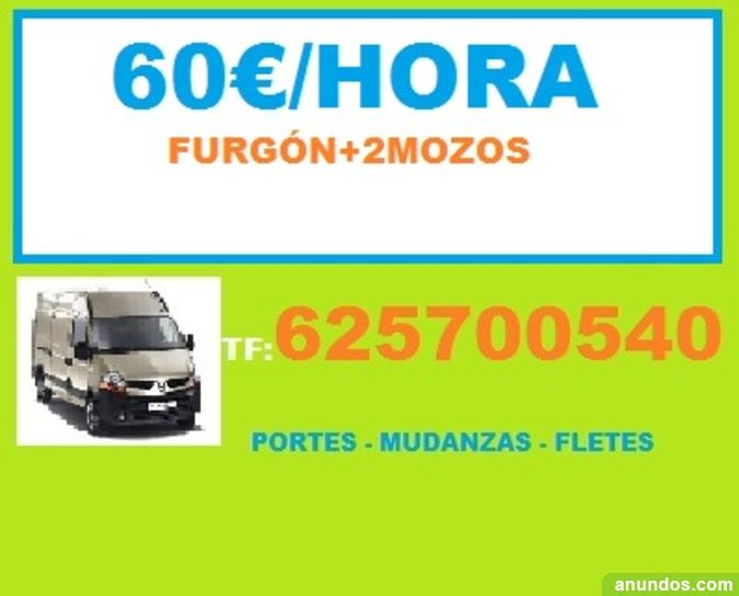 Portes en arganzuela 40eu recog de muebles madrid ciudad for Oficina de empleo madrid usera