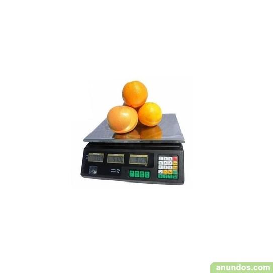 Balanza electrónica comercial hasta 30kg