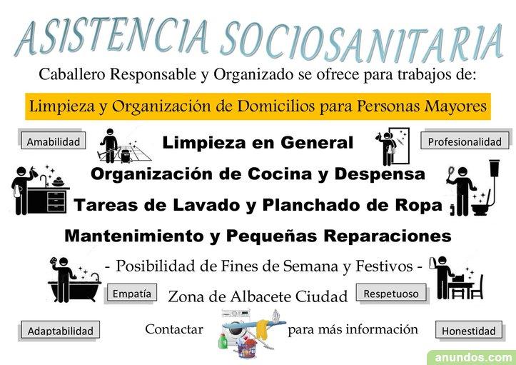 Limpieza y Organización de Domicilios (Apoyo Familiar)