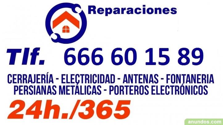 Electricista 24 Horas en Valencia y Alrededores