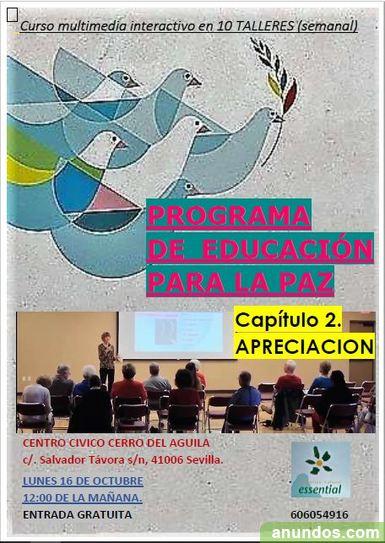 Curso de Educación para la Paz - Capitulo 2: APRECIACION