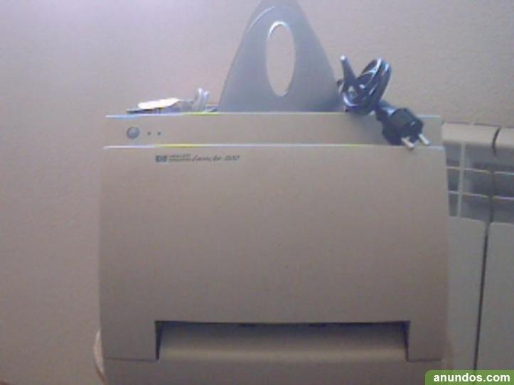 Impresora hp hewlett packard Laser Jet 1100
