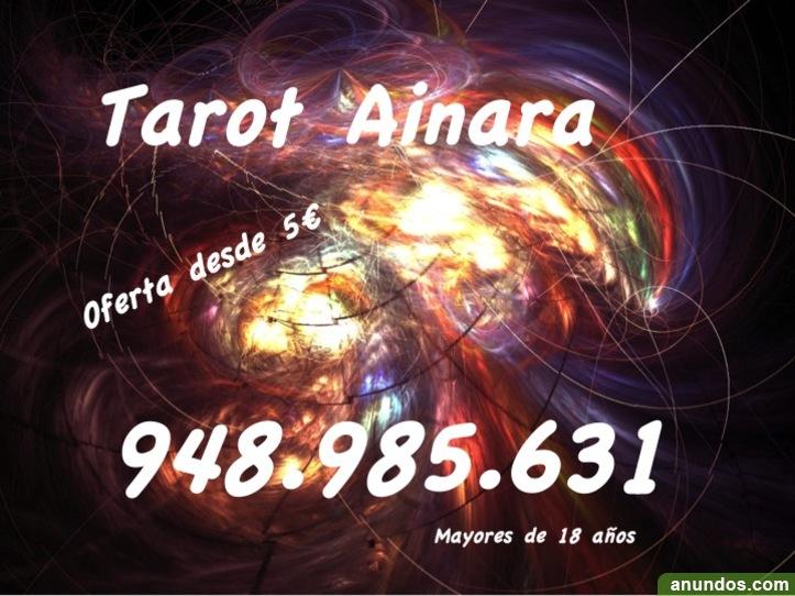 Clarividencia videncia oferta tarot Ainara 948.985.631 visa tarot
