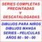 Peliculas y series descatalogadas precintadas 80-90s