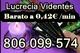 Tarot bueno y barato de lucrecia. 806 099 574. a 0,42€/min