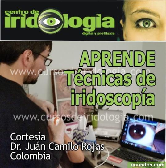 Software para ver iris con cámara de iridologia computarizada