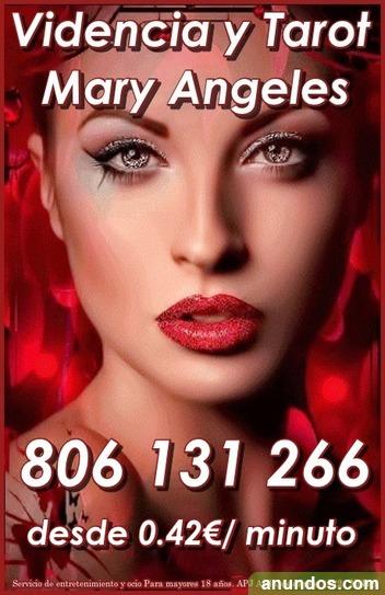 Videncia y Tarot Mary Angeles 806 131 266 a 0.42€/minuto