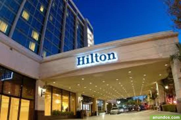 Hotel Hilton actualmente necesita trabajadores en Estados Unidos