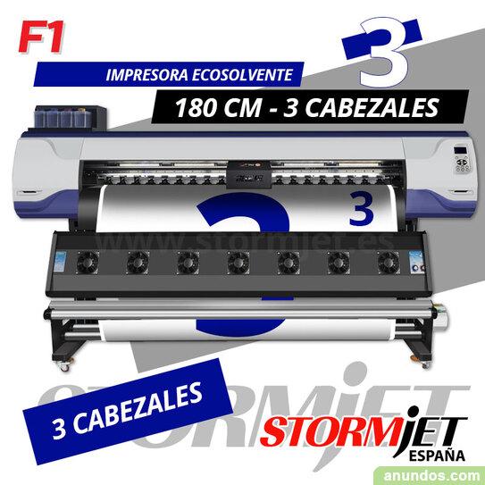 Nueva impresora ecosolvente 180 cm alta produccion velocidad