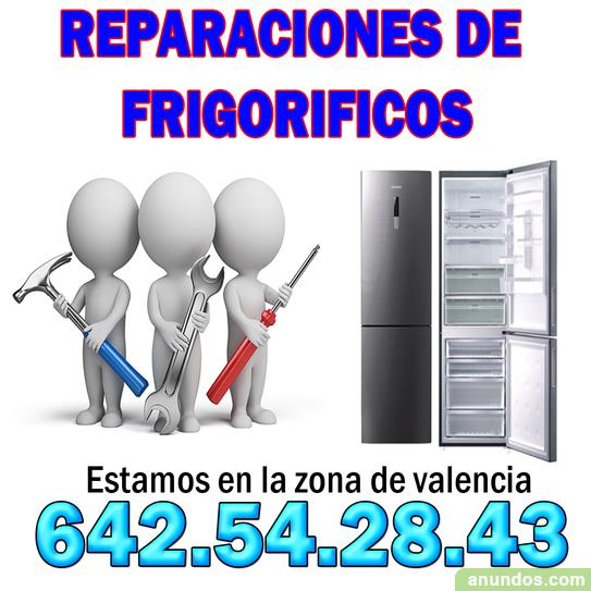 Reparación de frigorícos todas las averías