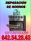 Mantenimiento de hornos para empresas y domésticos