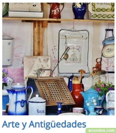 Arte y Antiguedades en El Vintager