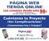 Páginas web y tiendas online