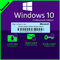 Licencia windows 10 pro 32/64 bit